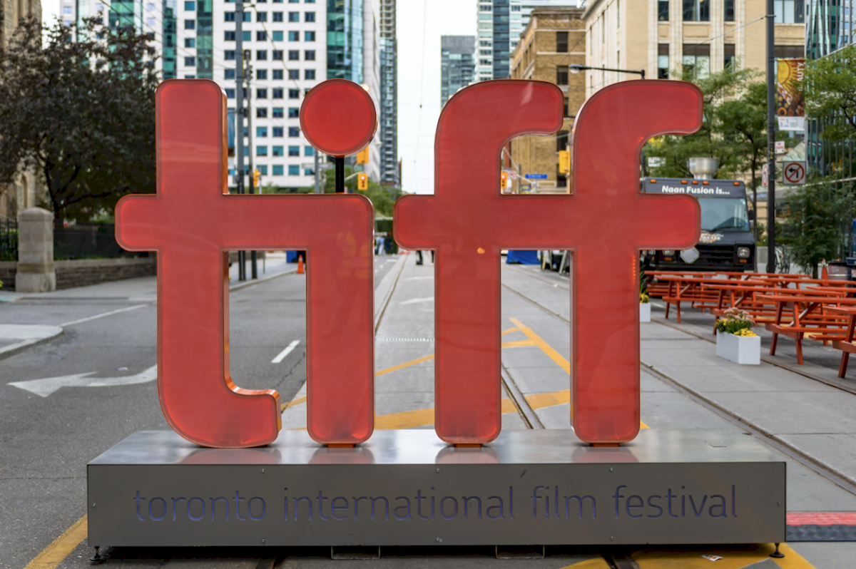 En el TIFF Bell Lightbox se ubica entre King Street y John Street. Dreamstime