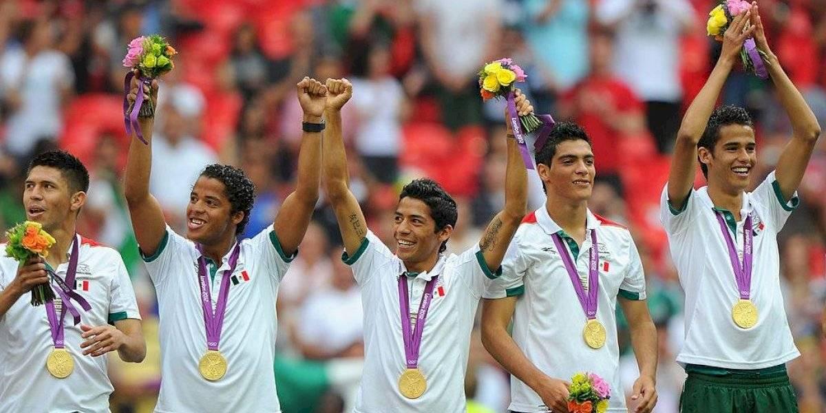 Futbolistas olímpicos donarán beca a atletas mexicanos