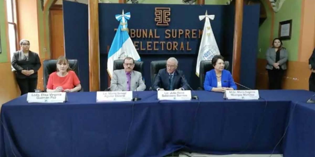 """TSE: """"Hemos cumplido nuestro compromiso de garantizar una elección técnicamente impecable"""""""