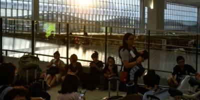 Protestas en aeropuerto de Hong Kong