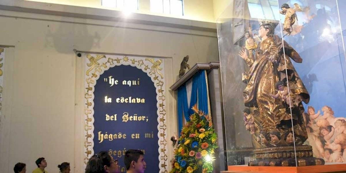 Una fiesta en honor a la Virgen de la Asunción