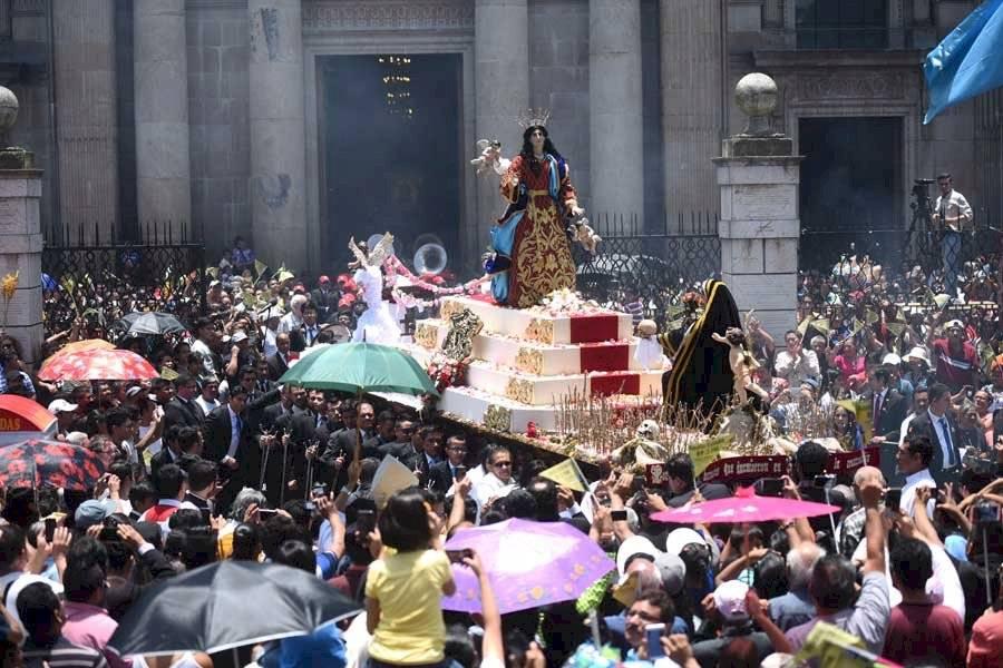 Procesión de la Virgen de la Asunción
