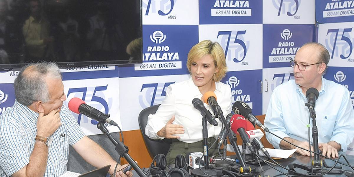 Guayaquil: la seguridad es prioridad, dice alcaldesa Viteri