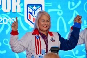 ceremonia de conocimiento a los atletas en los Juegos Panamericanos en Lima 2019