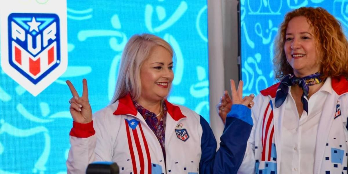 Gobernadora Wanda Vázquez participa de ceremonia de conocimiento a los atletas boricuas en Lima 2019