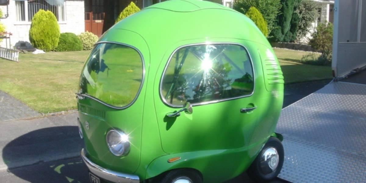 Hombre confiesa por qué el auto de sus sueños tiene forma de chícharo