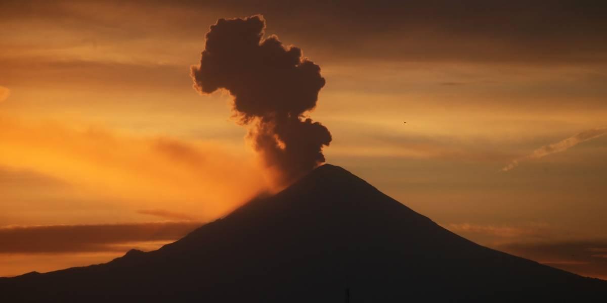 FOTOS: Popocatépetl registra 16 explosiones durante las últimas horas