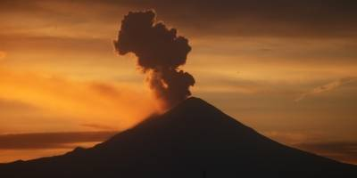 Explosiones Popocatépetl