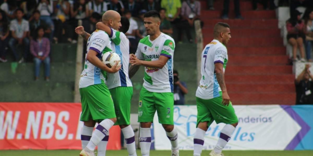 Antigua vuelve a sonreír y retoma el liderato del Torneo Apertura 2019