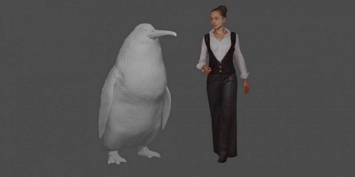 Pingüino gigante nadó alguna vez en los océanos