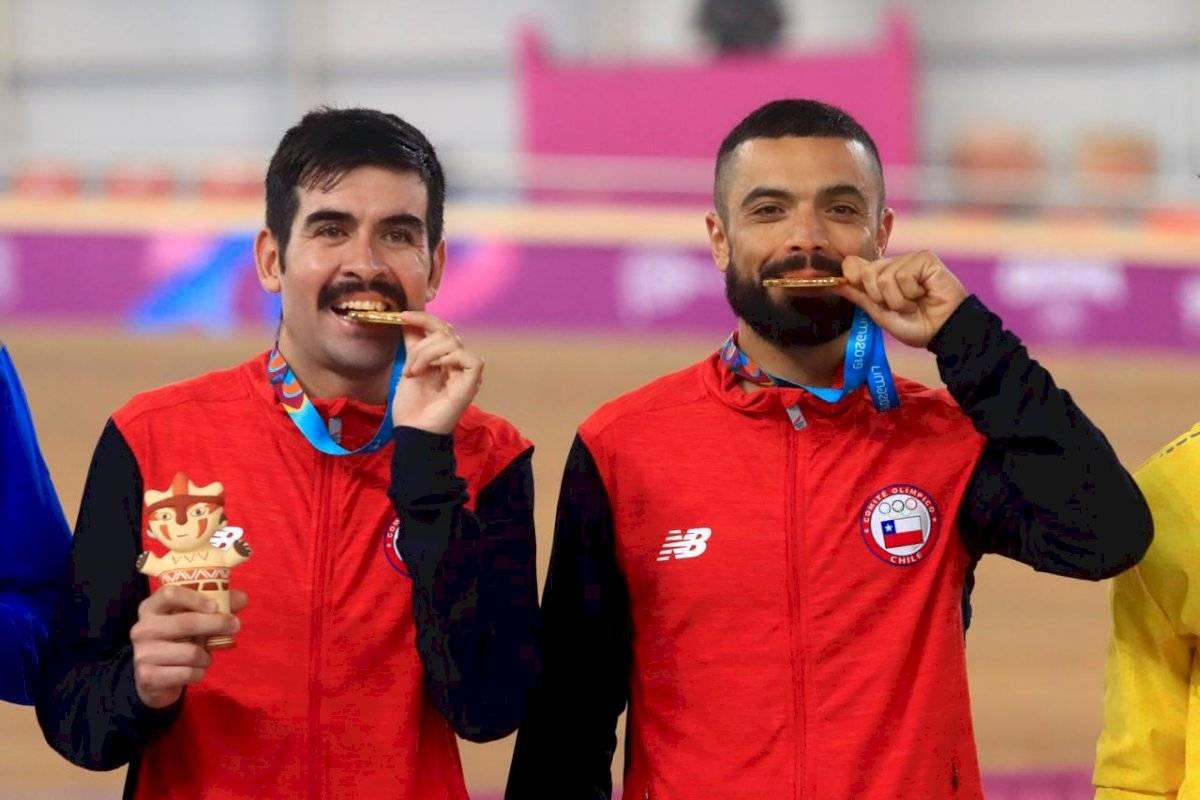 Peñaloza y Cabrera fueron de oro en el madison.