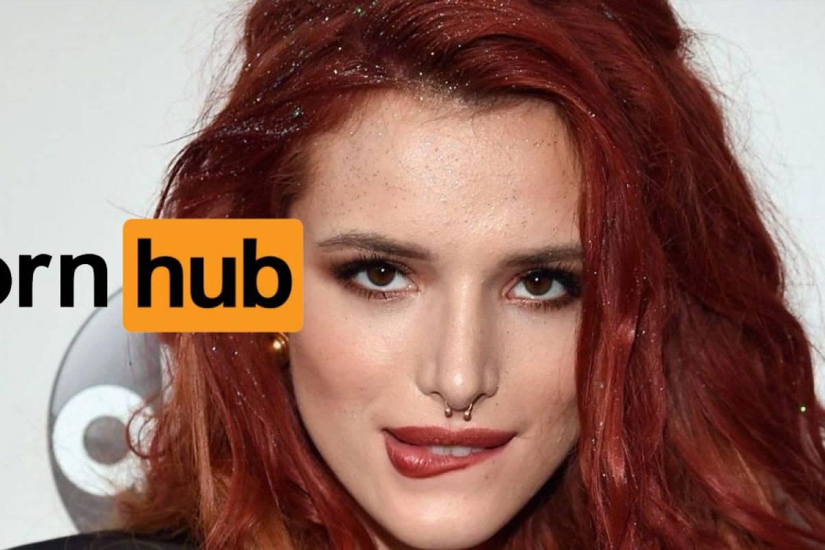 Bella Thorne dirigió una película porno para Pornhub e