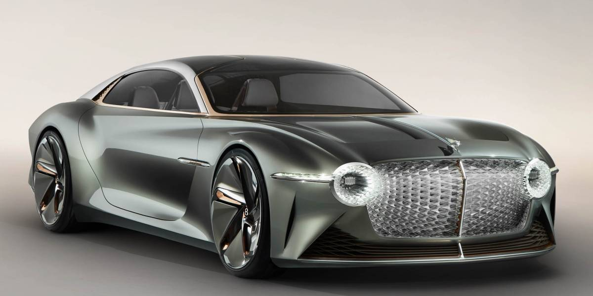 Bentley EXP 100 GT Concept, 100% eléctrico