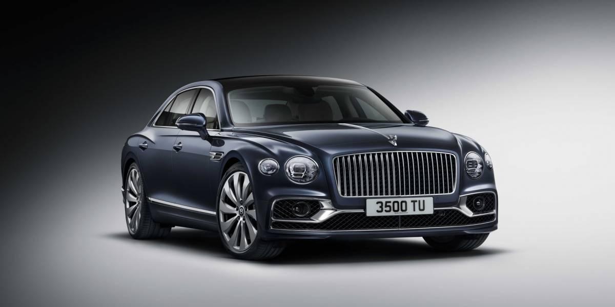 Con ustedes: Bentley Flying Spur de tercera generación
