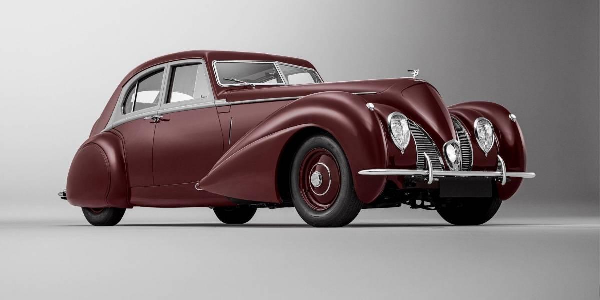 Bentley recreó pieza única de 1939