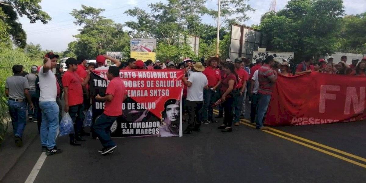 Salubristas anuncian manifestaciones para el miércoles
