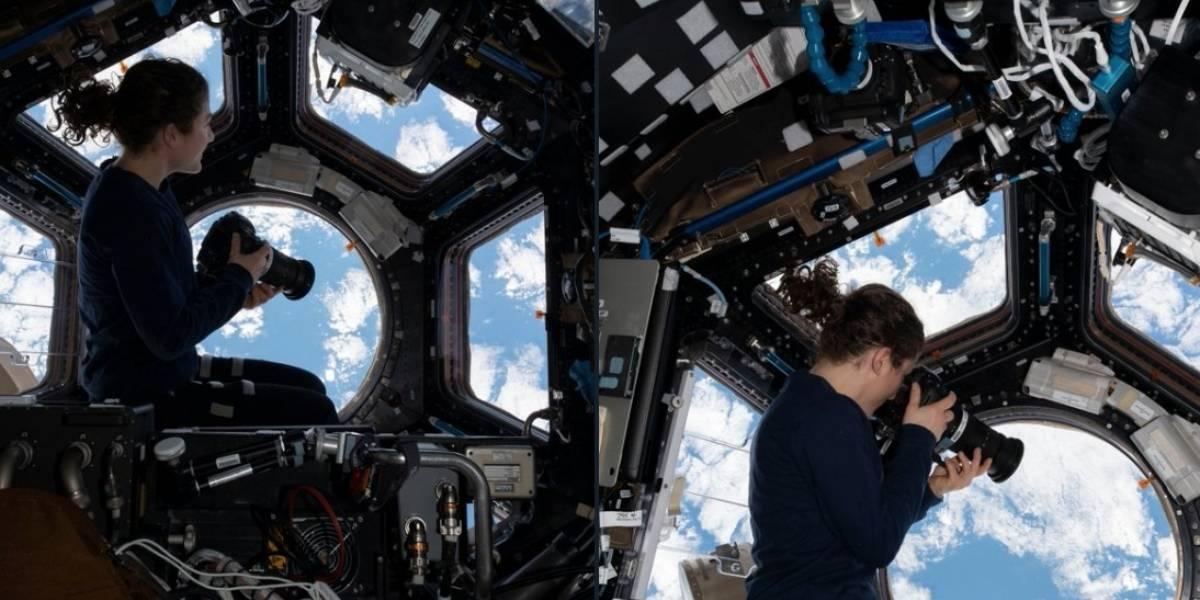 Astronauta da NASA revela passatempo favorito quando não tem nada para fazer no espaço