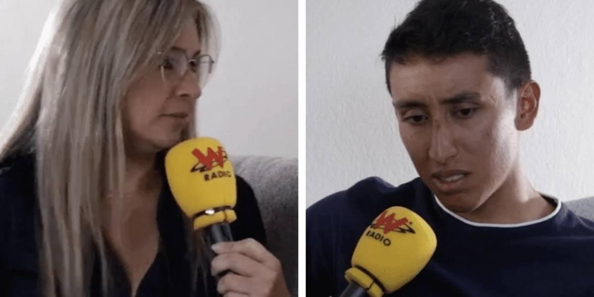 La embarrada de Vicky Dávila en plena entrevista con Egan Bernal