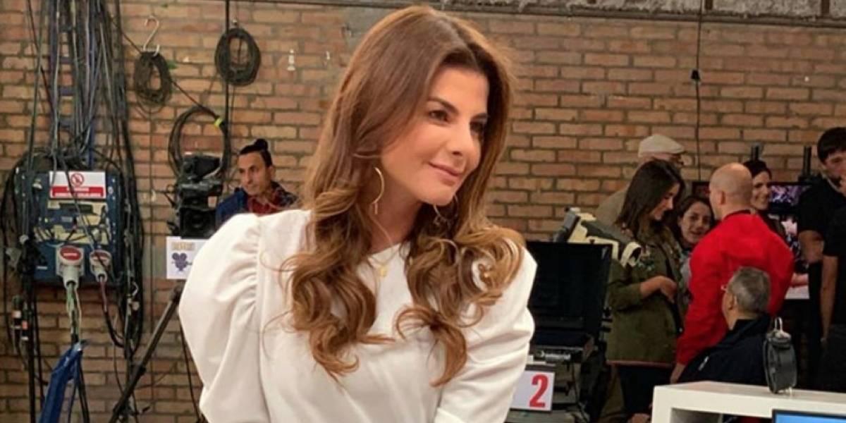 """La serena respuesta de Carolina Cruz para una mujer que la criticó por """"mal vestida"""""""