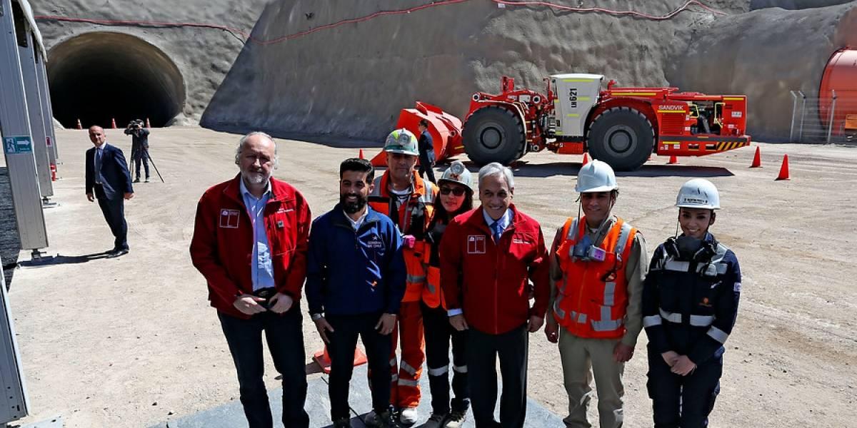 """Dejó de ser una mina a tajo abierto: Codelco inaugura su emblemático proyecto """"Chuquicamata Subterránea"""""""