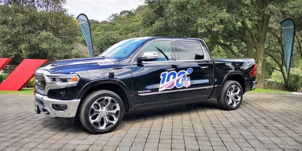 Arranca la NFL y ya tiene auto y troca: Dodge y RAM