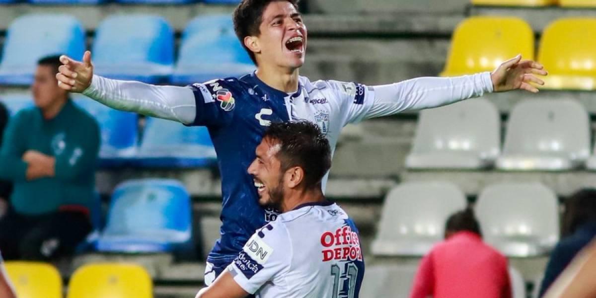 Víctor Dávila dejó atrás la lesión en Pachuca y volvió a las canchas con un gol en la Copa MX