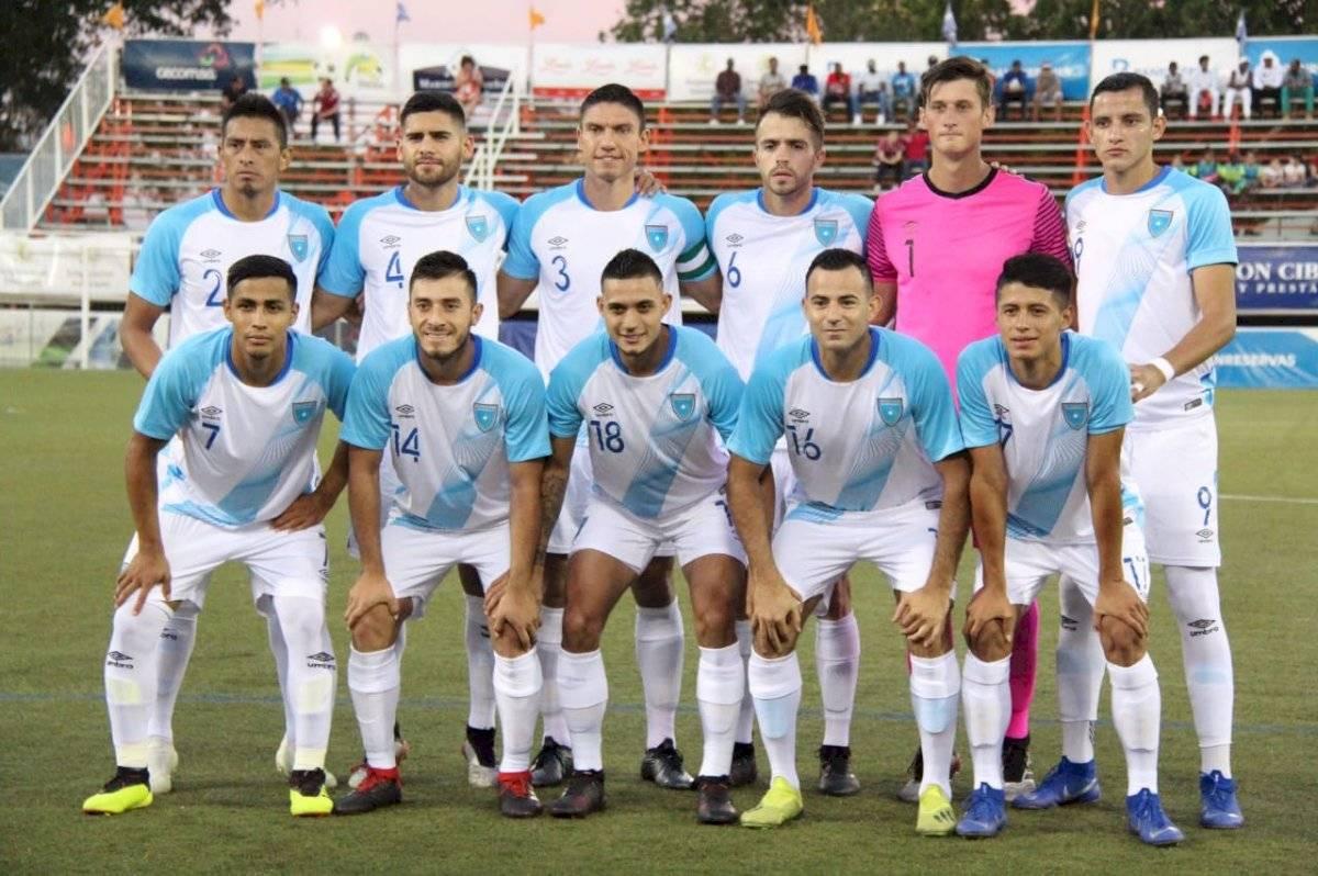Guatemala empata con República Dominicana