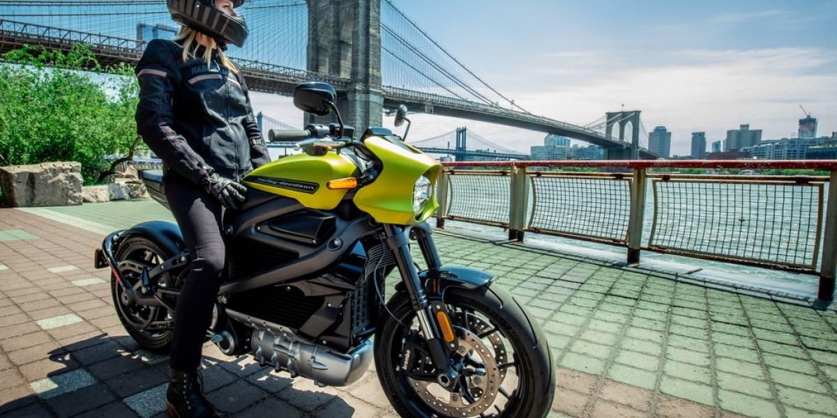 Ya está lista: Harley-Davidson LiveWire...