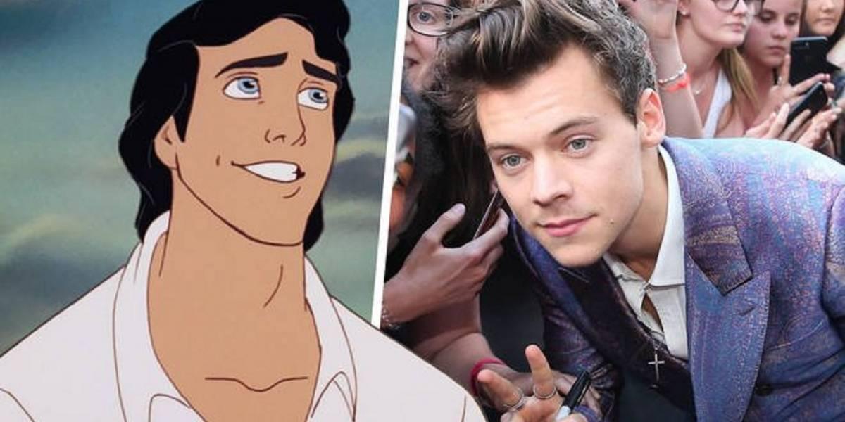 """Anuncian que Harry Styles rechazó ser el príncipe Eric en """"La Sirenita"""""""