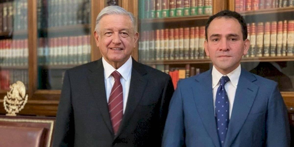 """""""Es un asunto de gremio"""", dice AMLO sobre reunión de Meade y Herrera"""