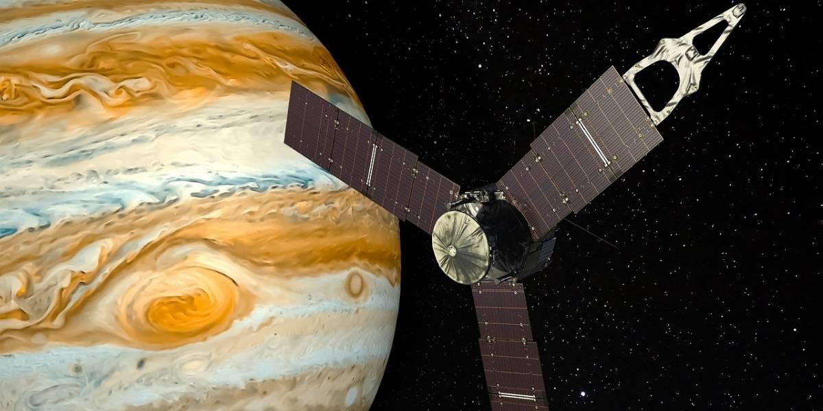 Cientista capta momento exato em que Júpiter é atingido por um meteorito