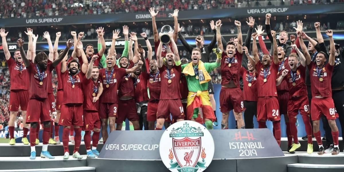 ¡El Liverpool sigue reinando en Europa! Ahora gana la Supercopa