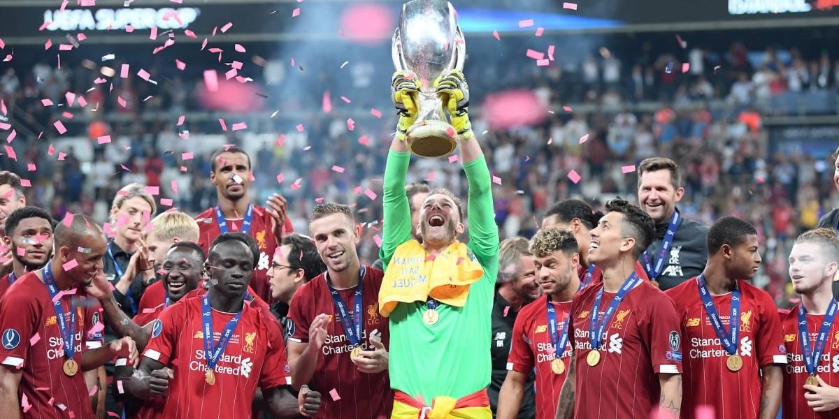 Liverpool vence al Chelsea y se corona en la supercopa de Europa