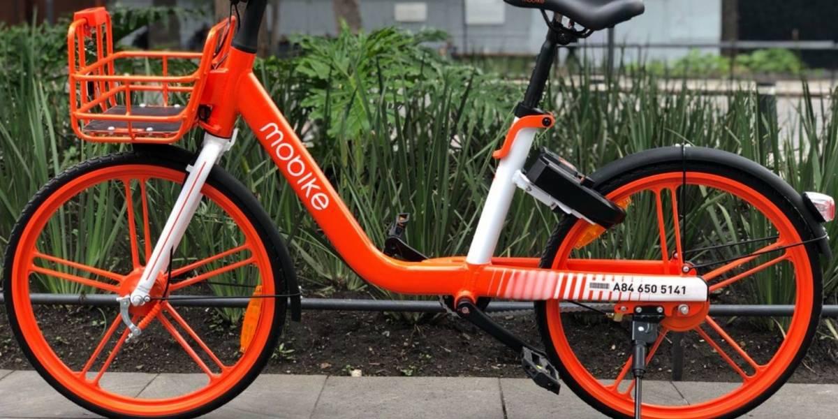 Retiran bicicletas y scooters compartidos no autorizados