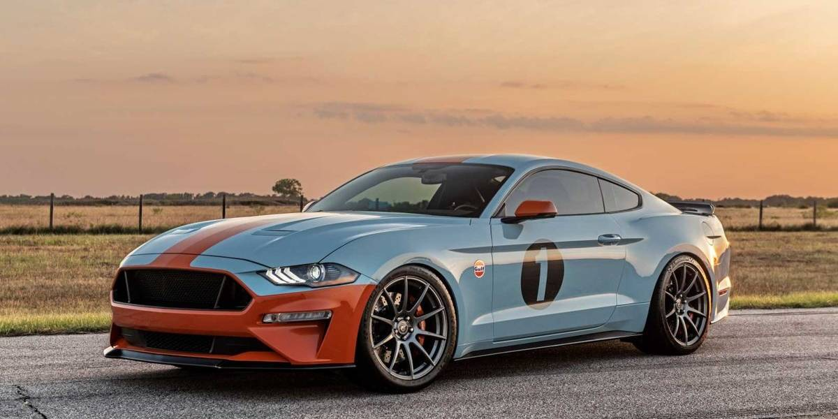 Gulf Heritage Ford Mustang