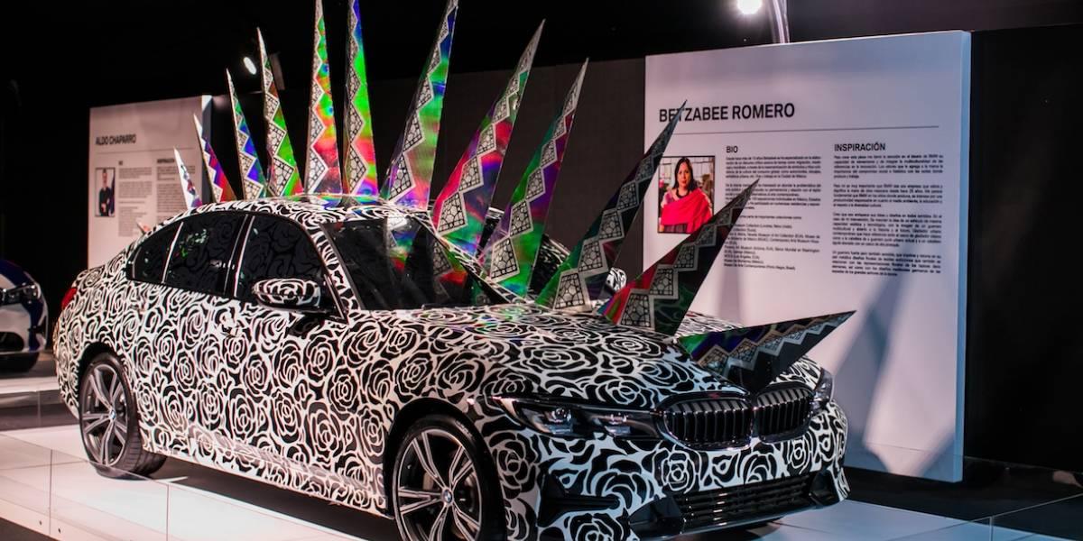 Conoce cómo tres artistas intervinieron el BMW Serie 3 de arte mexicano