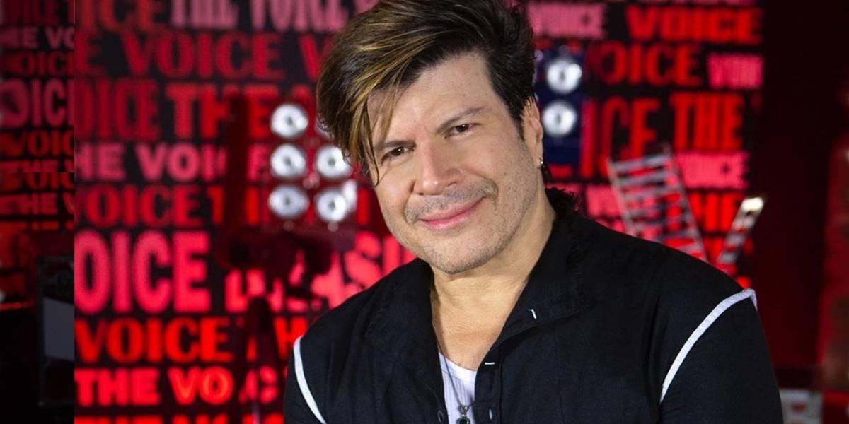 Paulo Ricardo canta no 'The Voice' e ganha elogio de Gloria Maria: 'Gato!'