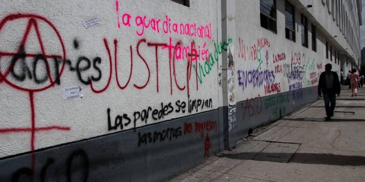 Blindarán Centro Histórico para evitar grafitis en las madrugadas