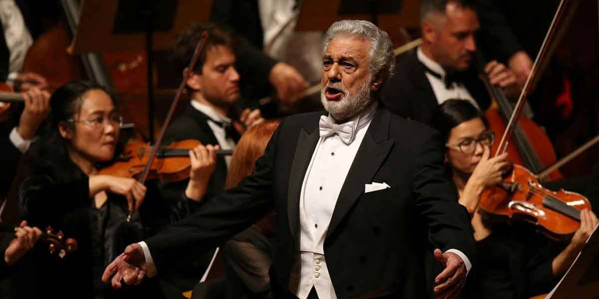 Plácido Domingo pede desculpas por casos de assédio sexual
