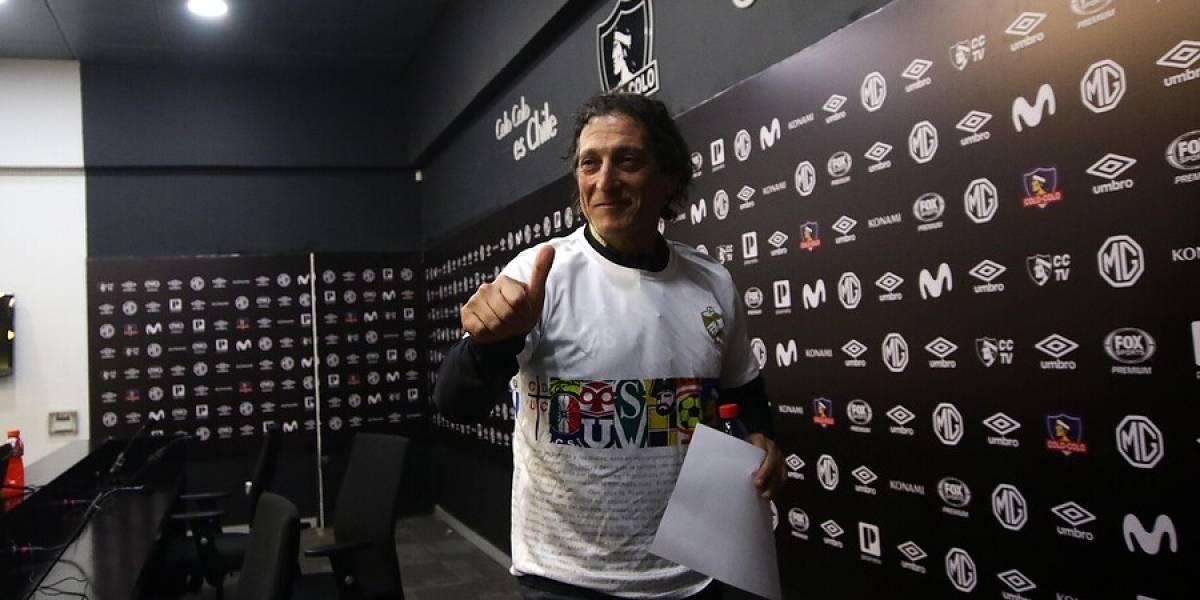 """Salas critica dura sanción a Jorge Valdivia y lo quiere de regreso en Colo Colo: """"Se juzgó con otra rigidez de otros casos"""""""