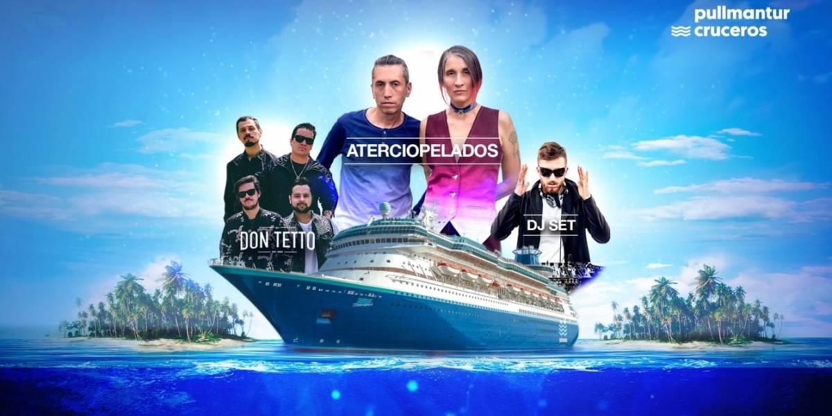 ¡Amantes del rock! Llega a Colombia el primer crucero con un concierto fantástico a bordo