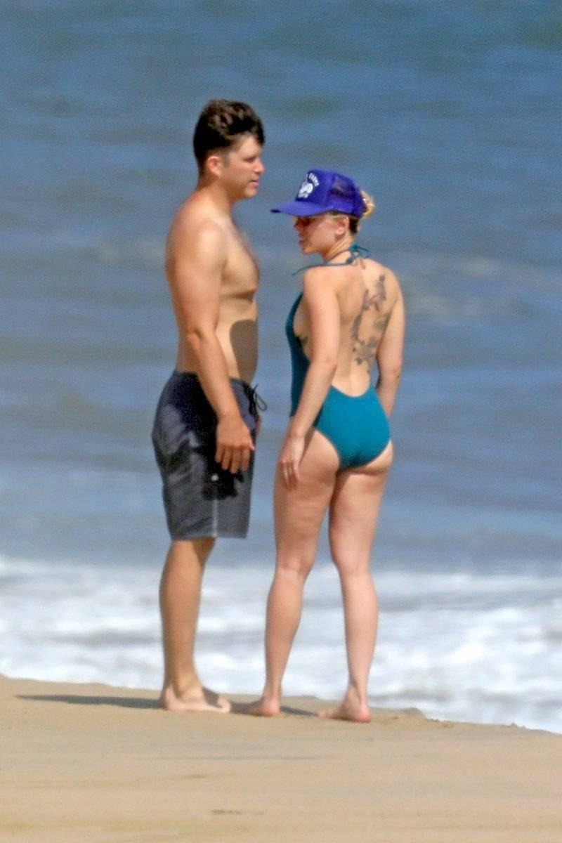 Critican a Scarlett Johansson por foto en bikini