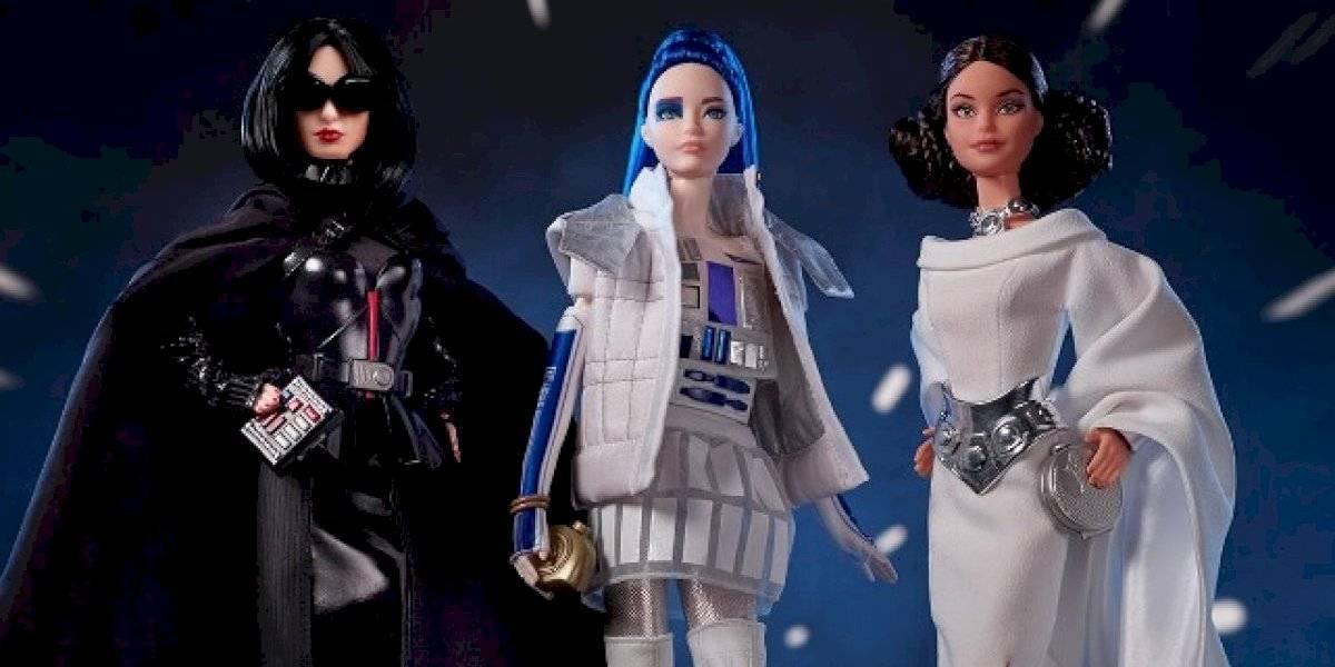 """Lanzan Barbie inspiradas en la saga de """"Star Wars"""""""