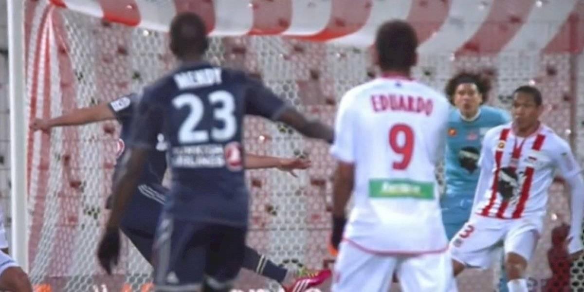 El golazo que le marcó Gignac a Ochoa en Francia