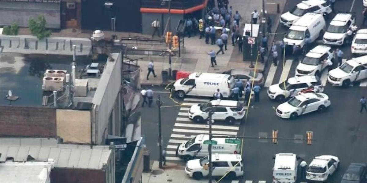 Tiroteo y toma de rehenes en Filadelfia enciende alarmas de Estados Unidos