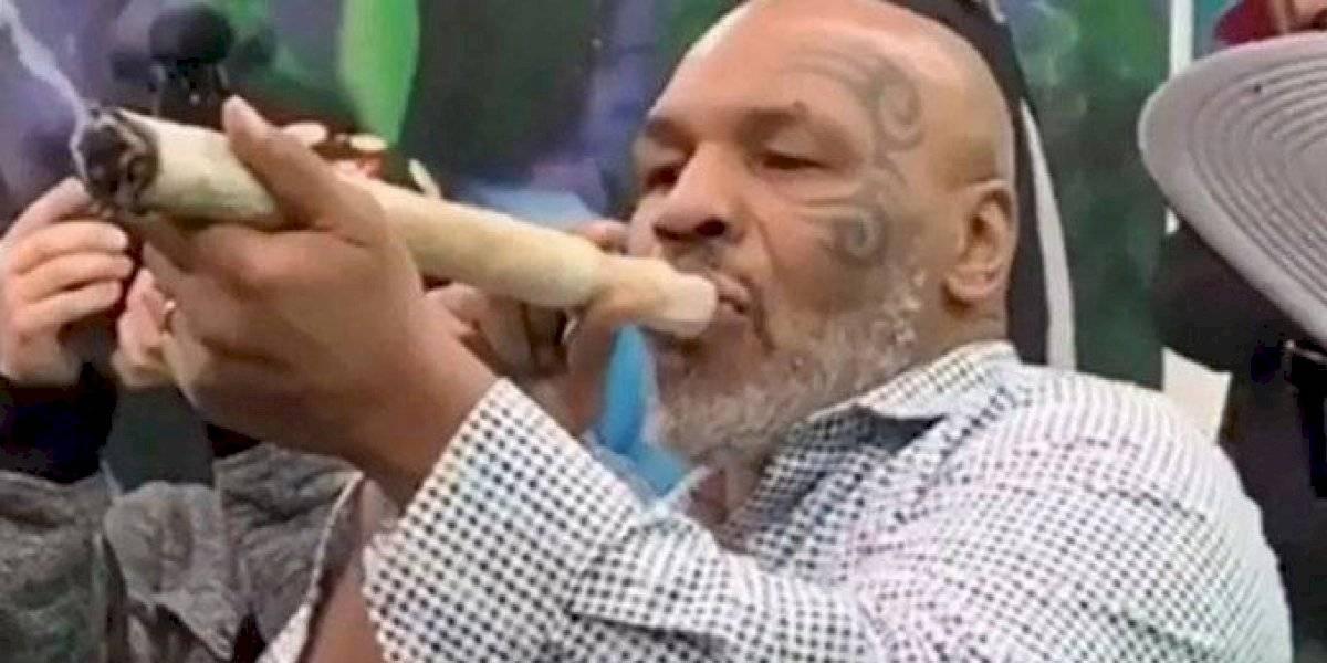 """La """"voladita"""" del ex campeón: Mike Tyson fuma 40.000 dólares en marihuana al mes"""