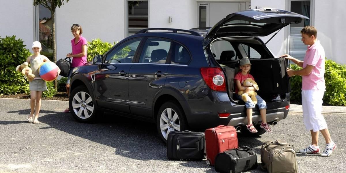 Revisa el automóvil antes de salir a carretera