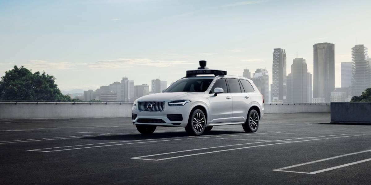 Uber presenta el nuevo Volvo de conducción 100% autónoma