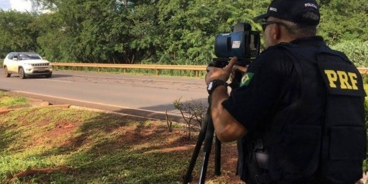 Radares móveis voltam às rodovias federais, mas sem aplicar multas
