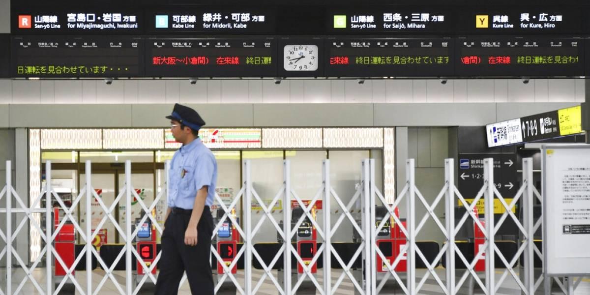 Una muerte y 34 heridos tras fuerte tifón en Japón
